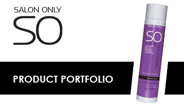 salon only product portfolio