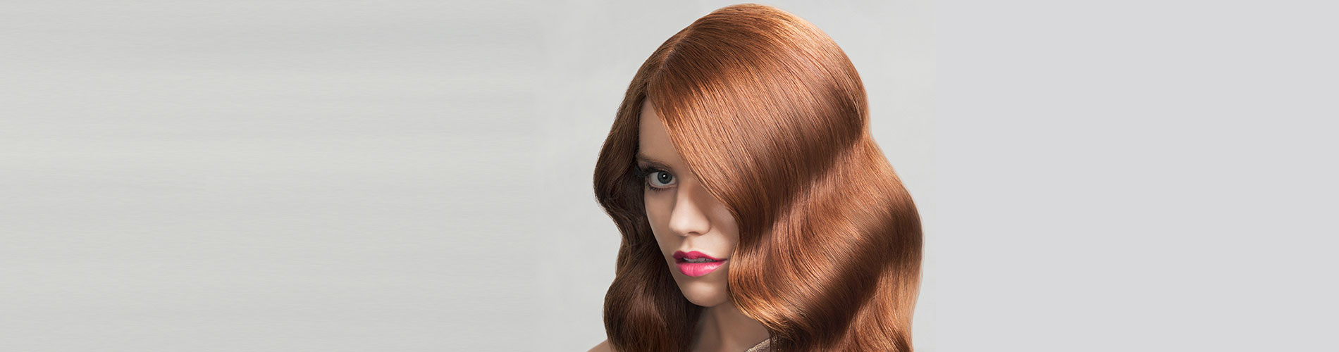 rpr mycolour model with healthy red hair