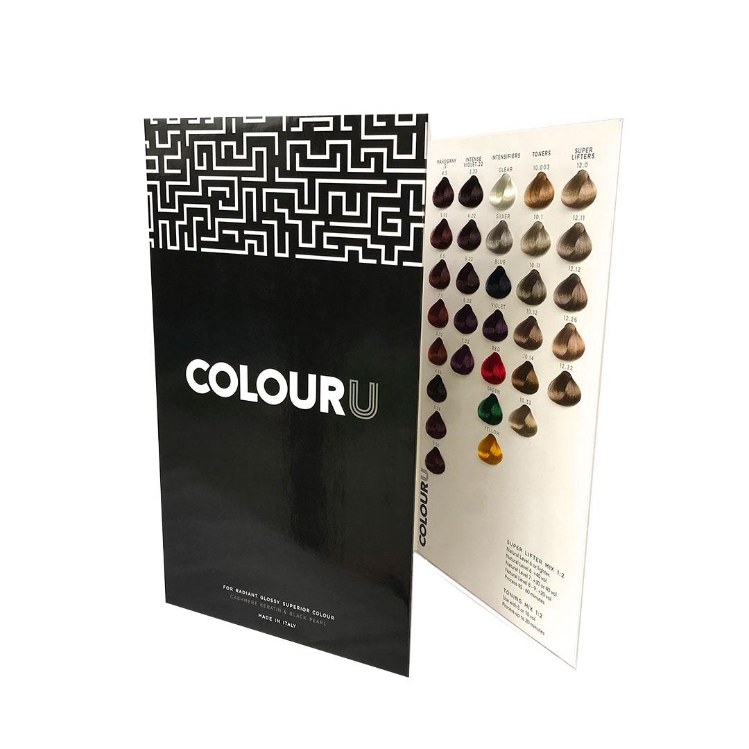 colouru hair colour COLOURUCHART RPR