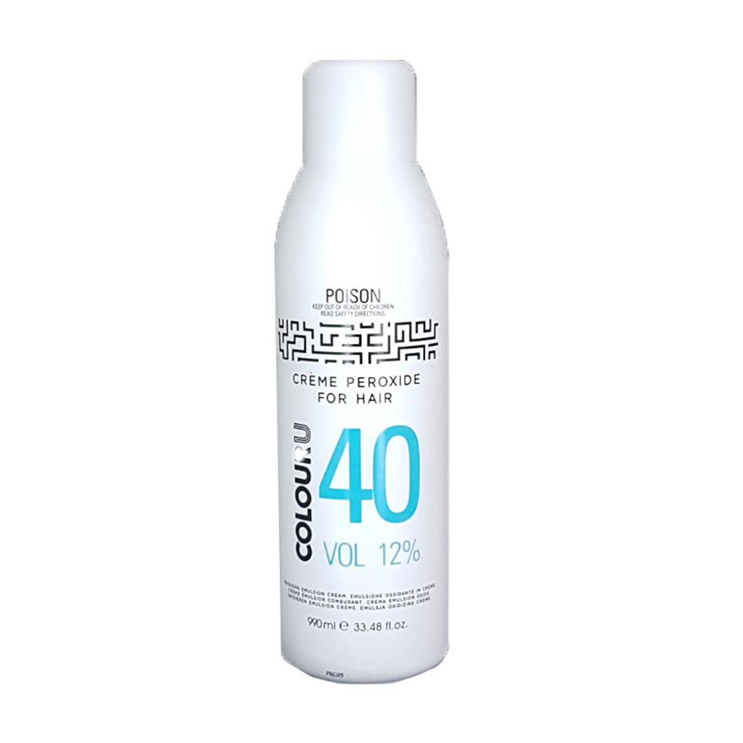 rpr colouru peroxide 40vol for hairdressers
