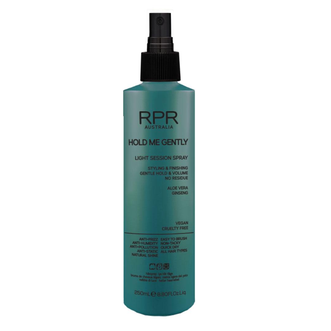 rpr hold me gently 250ml light session spray