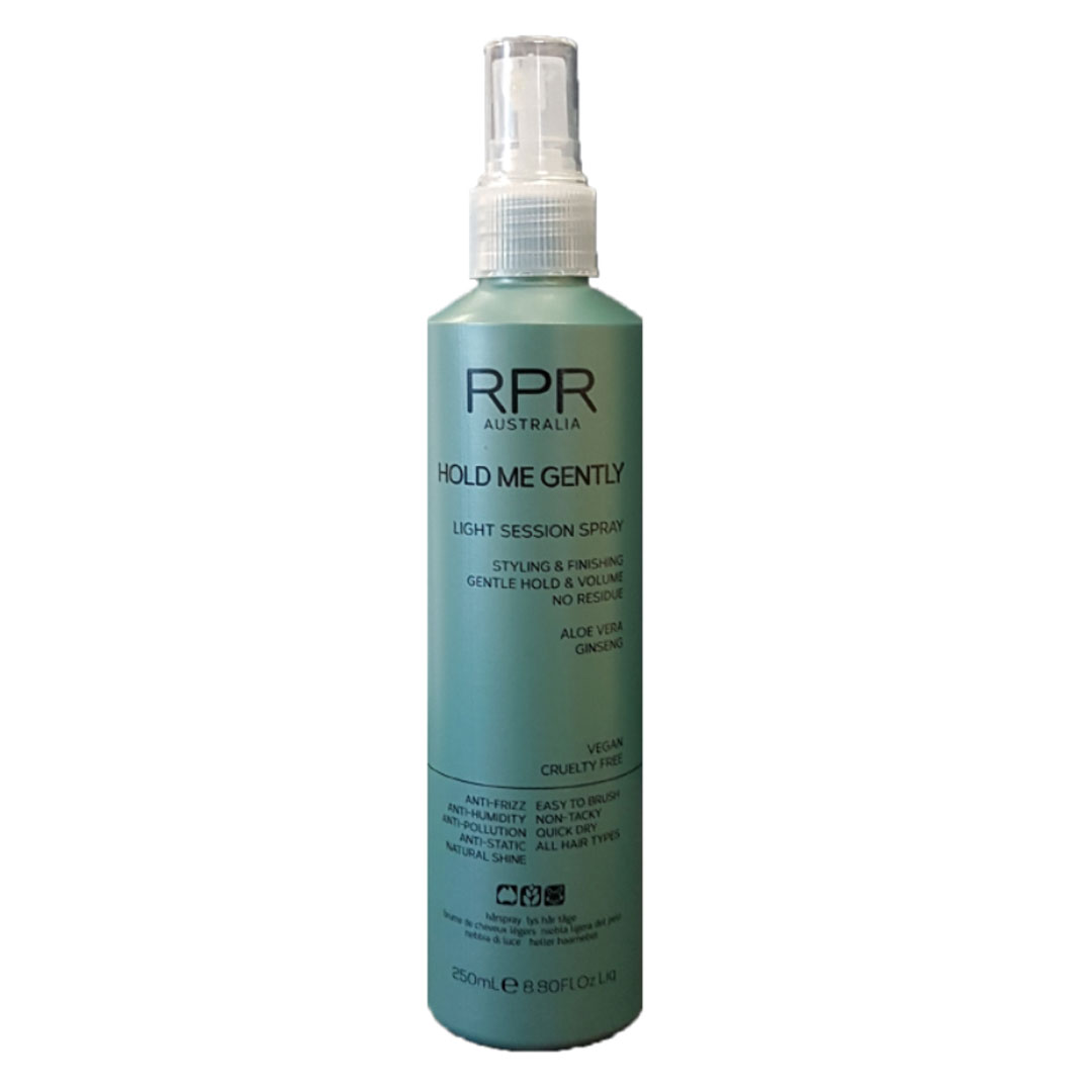 rpr hold me gently hairspray mist