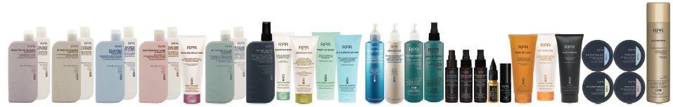 full range of rpr australia hair care products