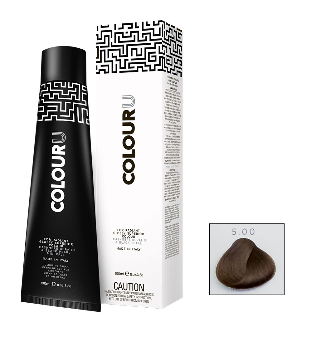 colouru hair colour 100ml shade 5.00
