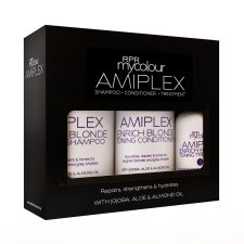 rpr amiplex blonde pack shampoo conditioner and treatment