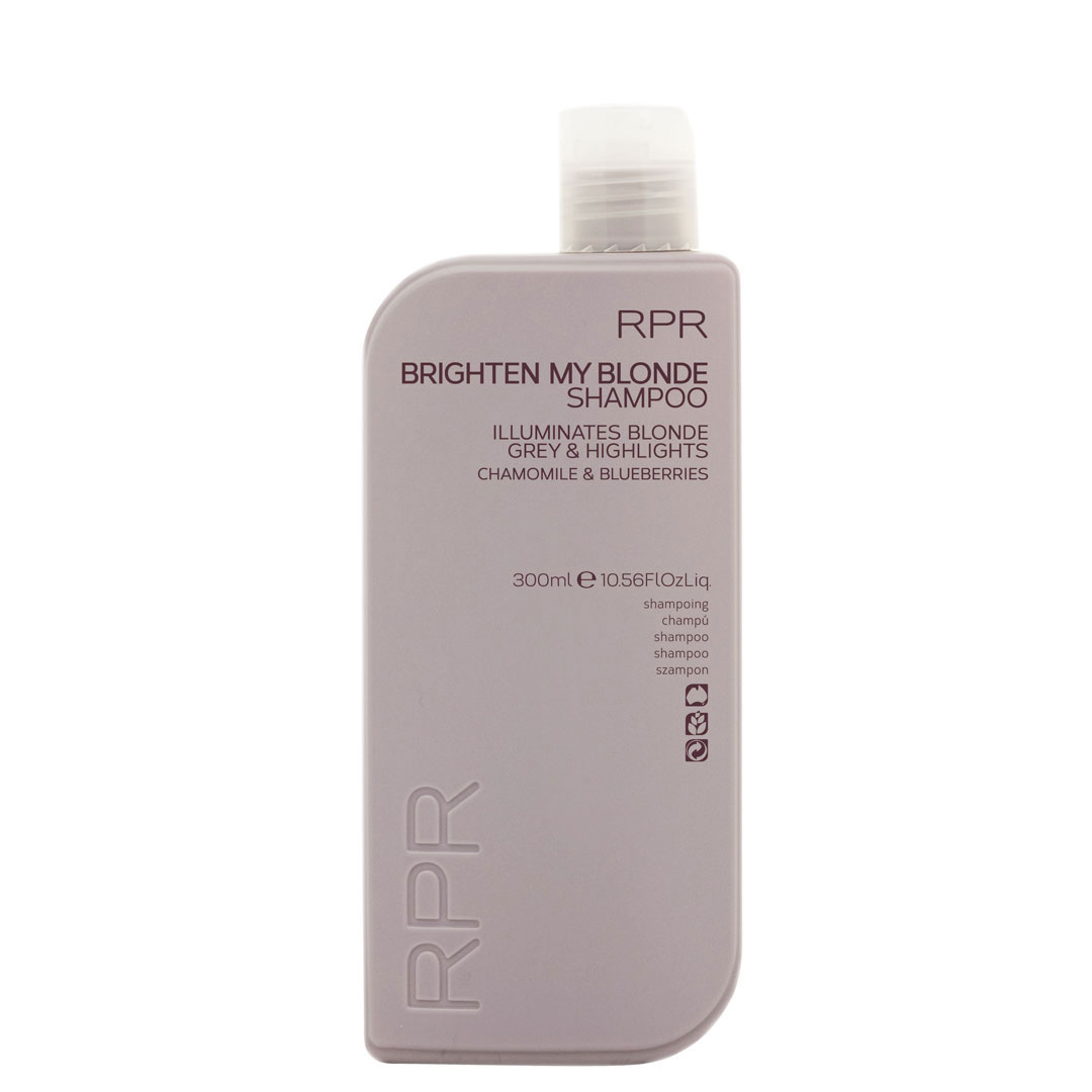 rpr brighten my blonde shampoo 300ml