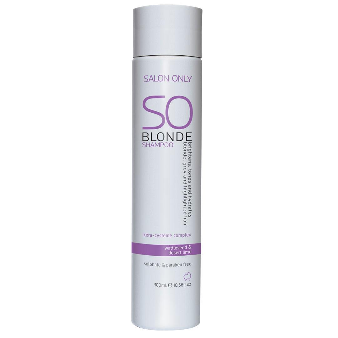 salon only so blonde shampoo 300ml