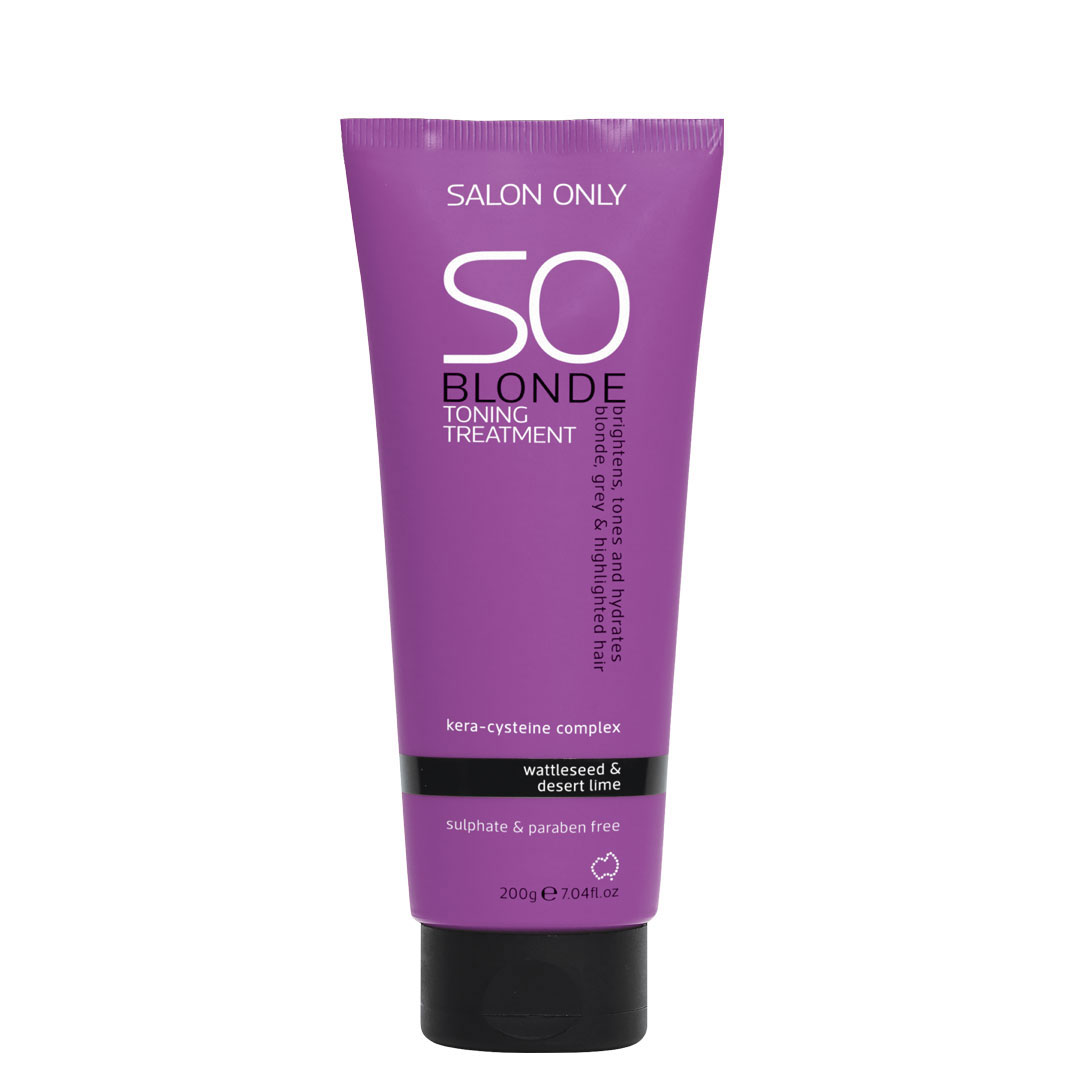 salon only so blonde toning treatment 200g