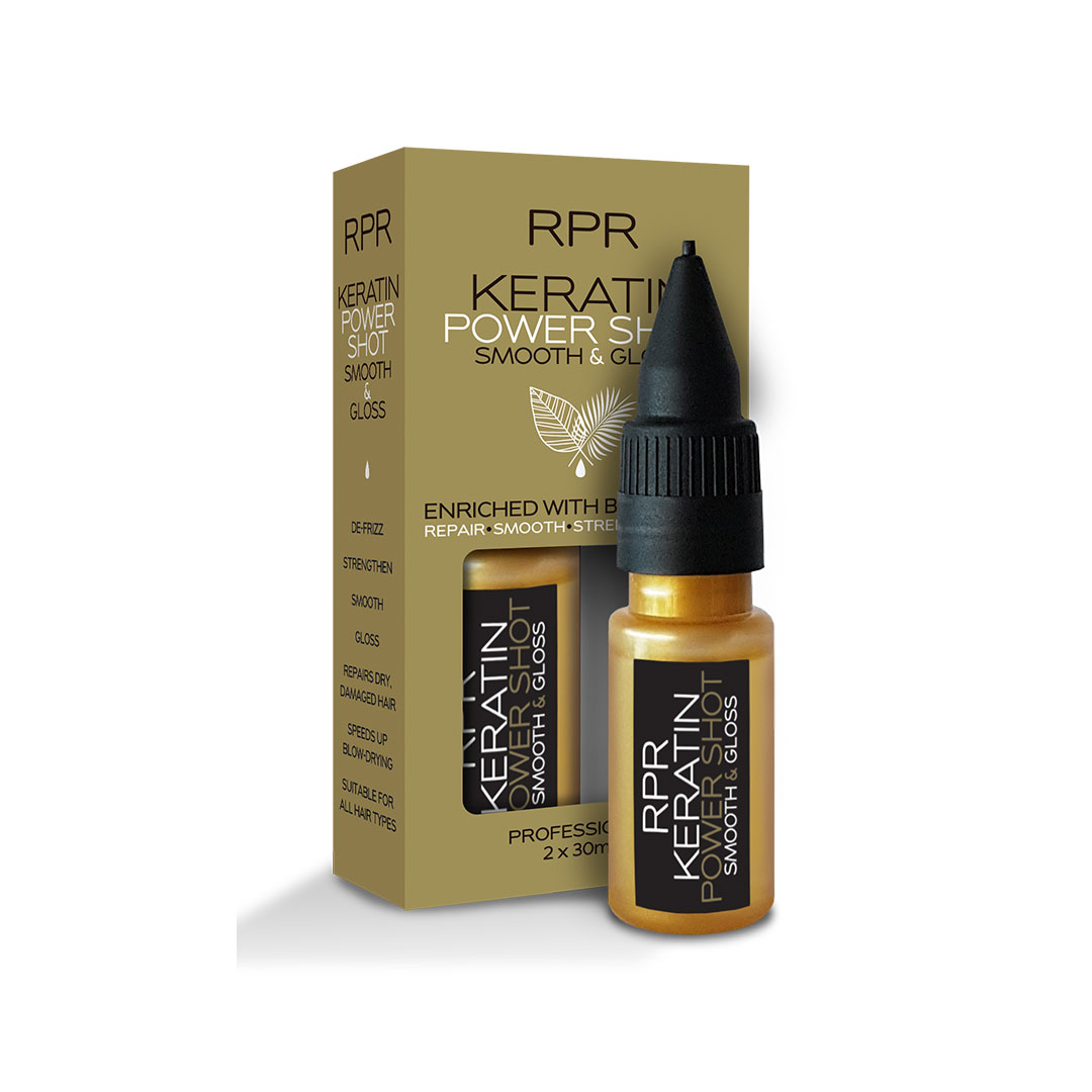 rpr keratin power shot twin pack